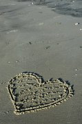 HeartCarvedInSand